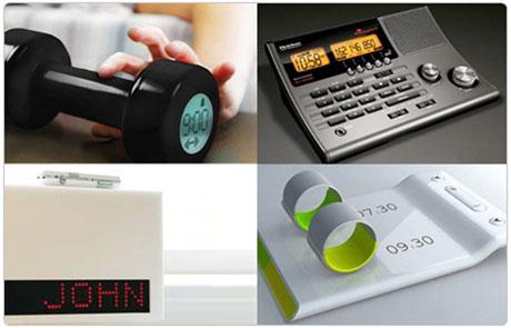 Despertadores de diseño
