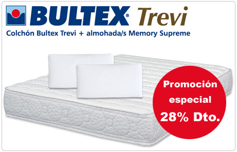 Promoción especial en colchones Bultex