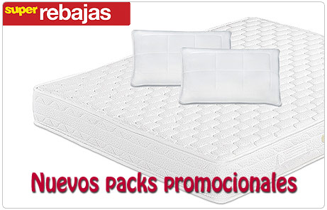 Packs promocionales SuperRebajas