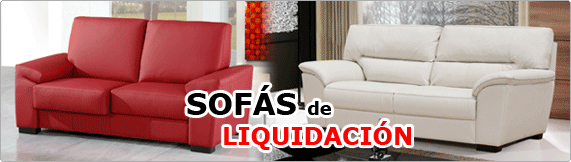 Gran liquidaci n de sof s blog de la tienda home for Liquidacion sofas cama