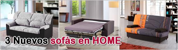 nuevos sofas HOME