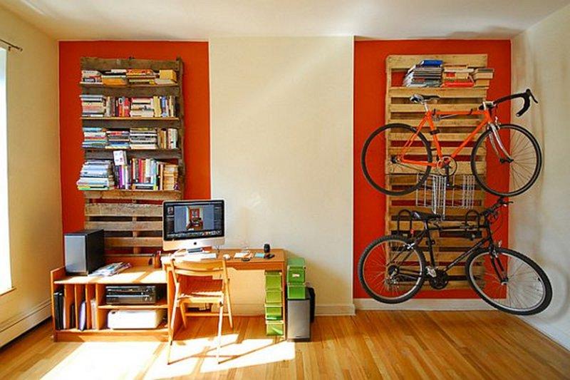 Decoraci n con palets top 3 ideas blog de la tienda home - Estanterias con palet ...