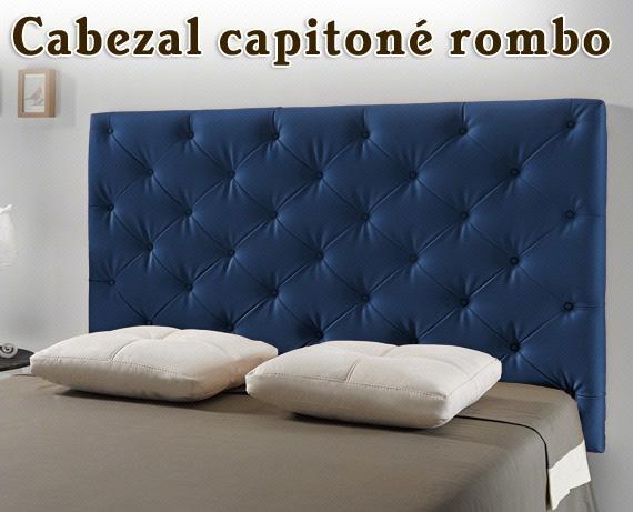 cabezal-capitone-rombos-azul