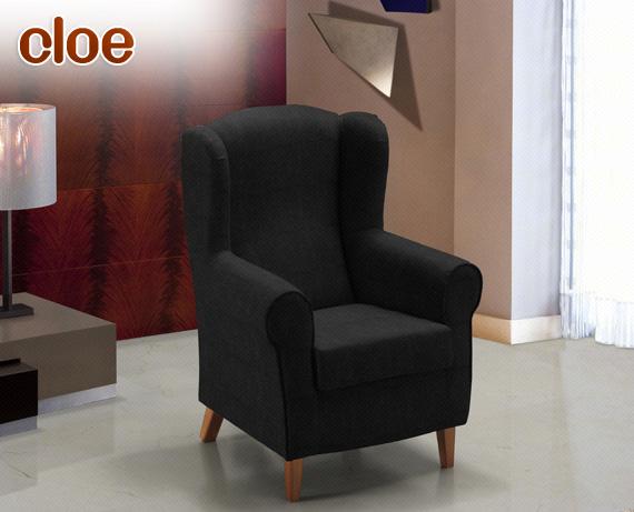 sillon-cloe-zafiro-negro