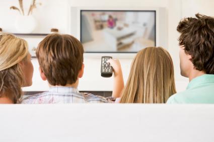 televisión en la habitacion