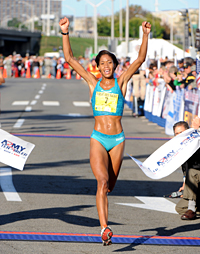women runner