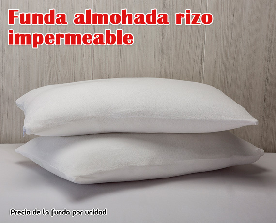 Funda-almohada rizo
