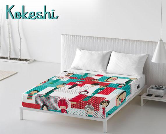 juego de cama Charuca-kokeshi