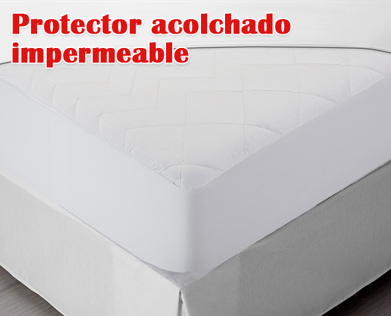 Protector acolchado impermeable