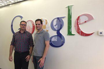 Visita a google