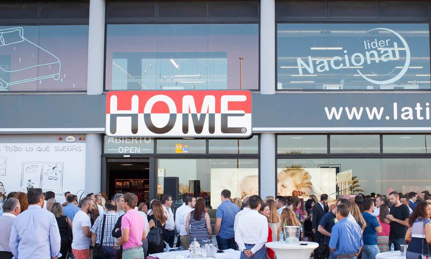 Inauguración La Tienda HOME