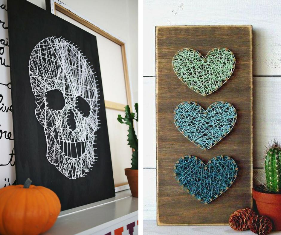 Proyectos DIY - hilos colores - La Tienda Home