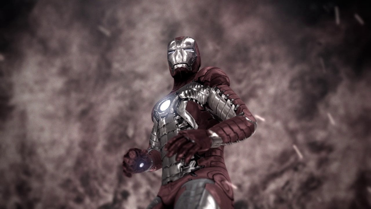 Iron Man, imagen epica