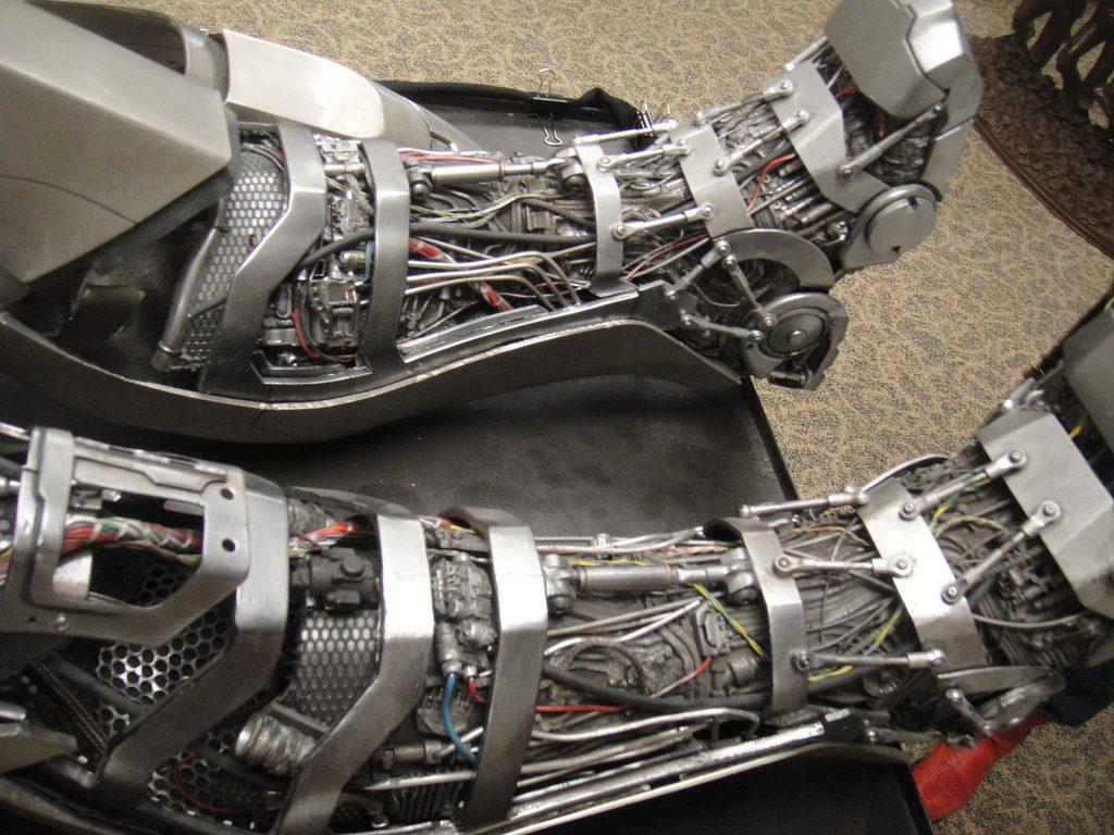 Piernas de la armadura de Iron Man