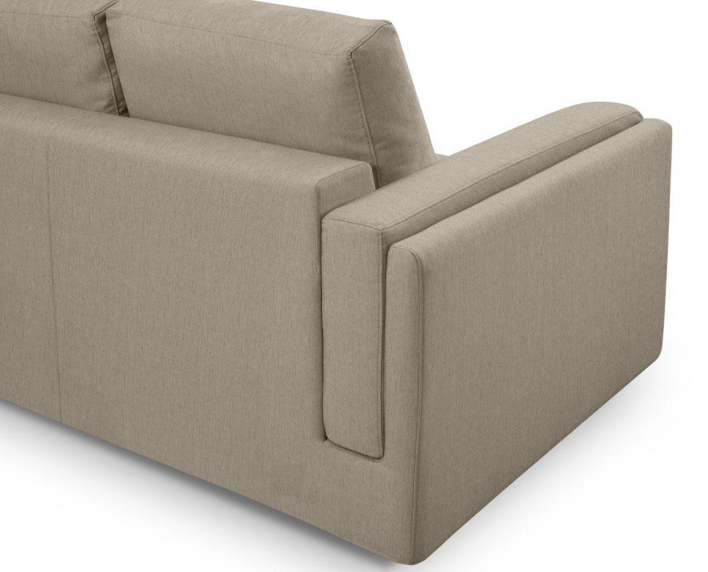 Detalle trasera de un sofá desenfundable - La Tienda Home
