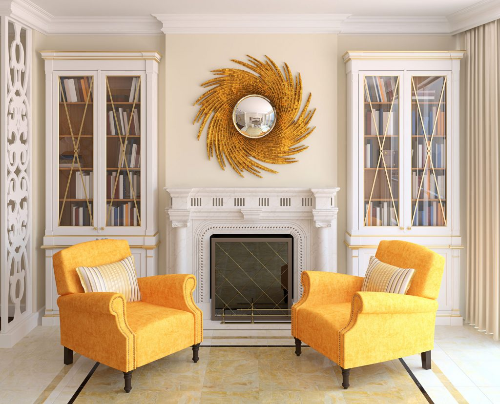 Decoración equilibrada - Espejo sol - La Tienda Home