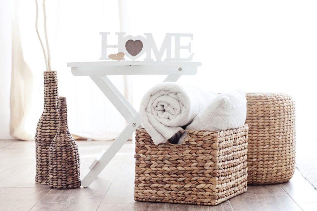 Decoración equilibrada - Materiales naturales - La Tienda Home