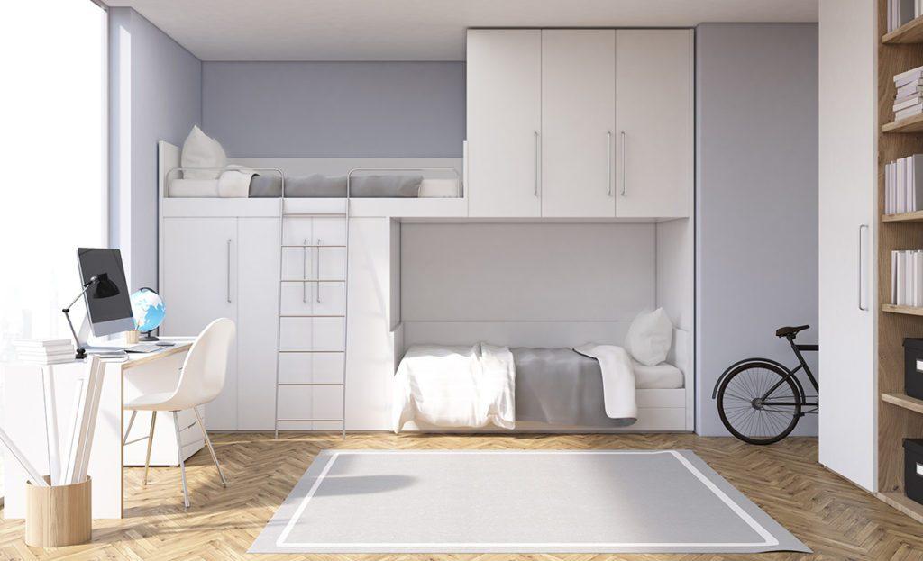 Habitaciones con litera - Decoración dormitorios pequeños - La Tienda Home